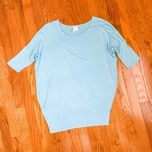 Agnes & Dora Light Blue Tunic Size XS